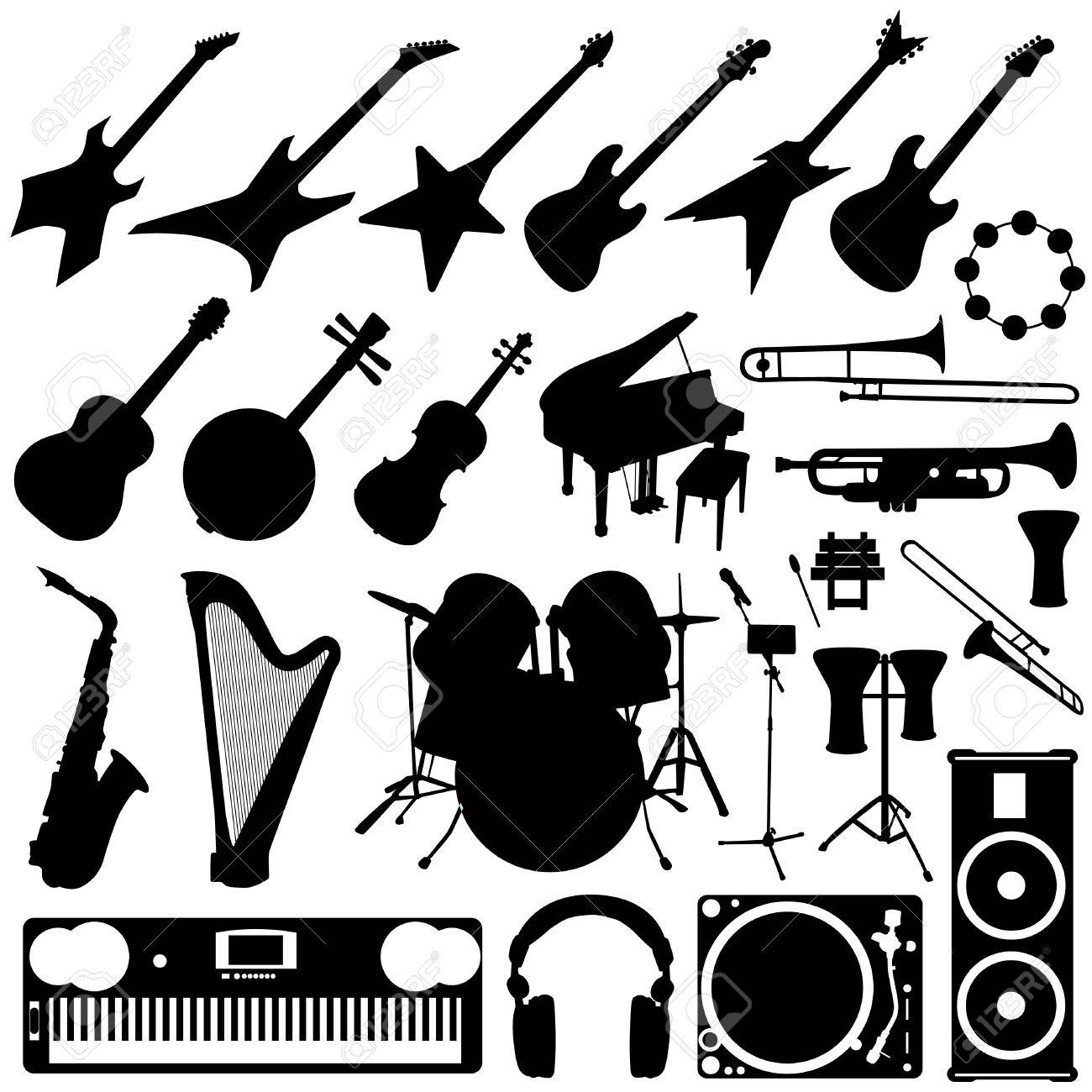 hight resolution of rock band drums clipart band instruments music