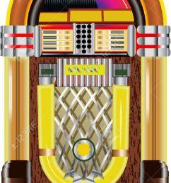 jukebox stock vector 27666226 [ 740 x 1300 Pixel ]