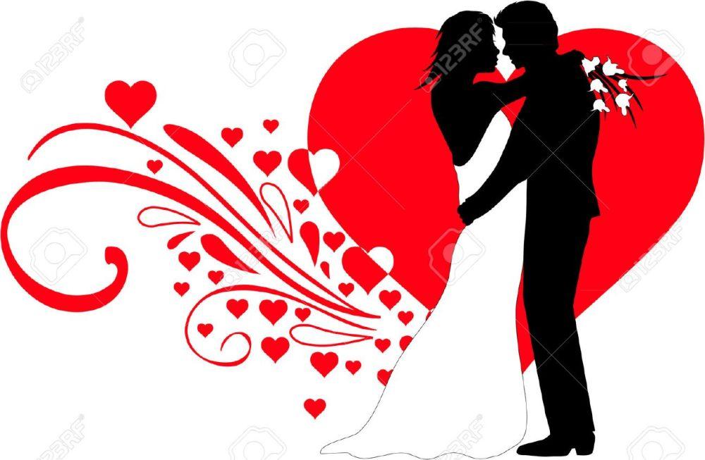 medium resolution of wedding couple stock vector 31505164