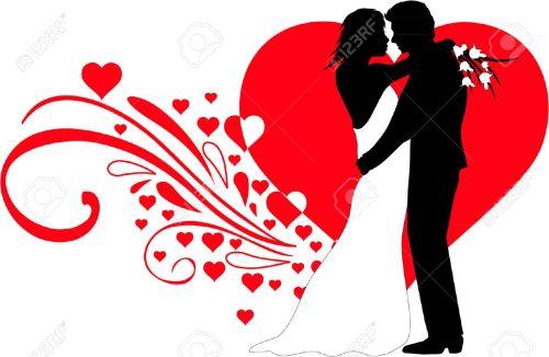 small resolution of wedding couple stock vector 31505164
