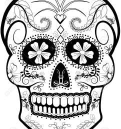 day of the dead skull vector stock vector 53413906 [ 976 x 1300 Pixel ]