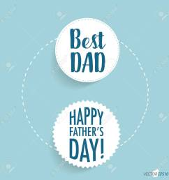 happy fathers day card design vector illustration stock vector 77699402 [ 1300 x 1300 Pixel ]