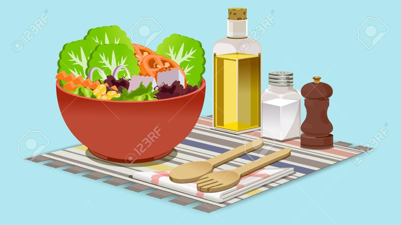 eating salads to you