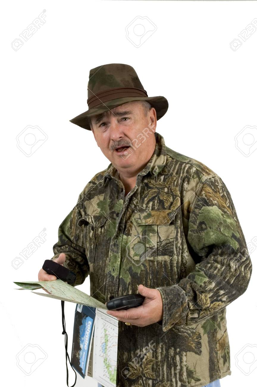 man in camouflage clothing