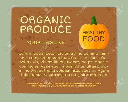 small resolution of organic farm corporate identity design with pumpkin branding your eco shop company stickers