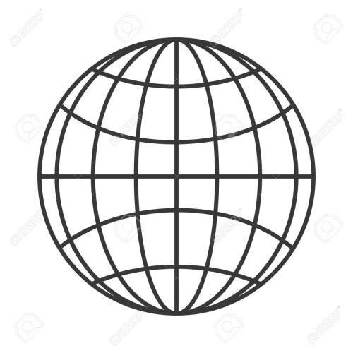 small resolution of flat design earth globe diagram icon vector illustration stock vector 61116721