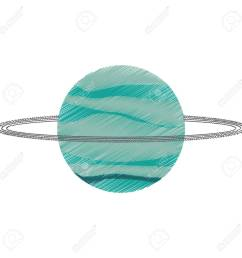 drawing uranus planet solar system vector illustration eps 10 stock vector 74660863 [ 1300 x 1300 Pixel ]