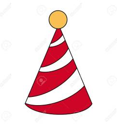 birthday hat symbol icon vector illustration graphic design stock vector 89512229 [ 1300 x 1300 Pixel ]