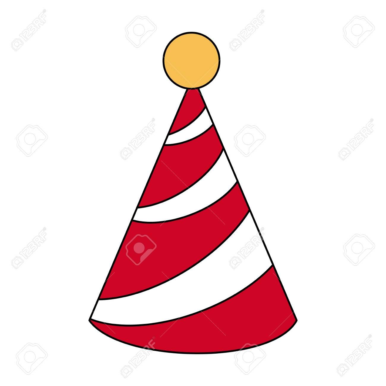 hight resolution of birthday hat symbol icon vector illustration graphic design stock vector 89512229