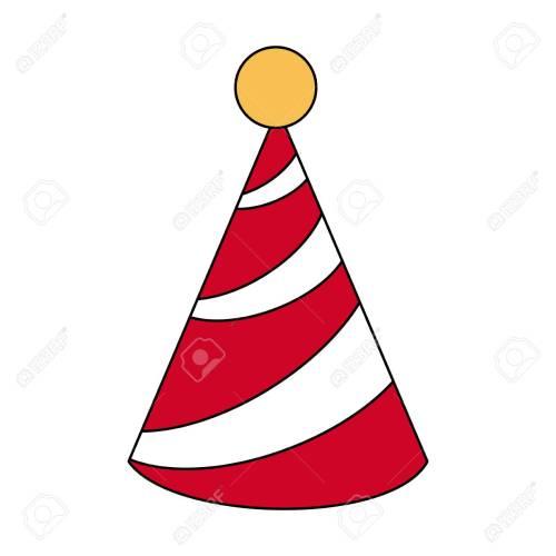 small resolution of birthday hat symbol icon vector illustration graphic design stock vector 89512229