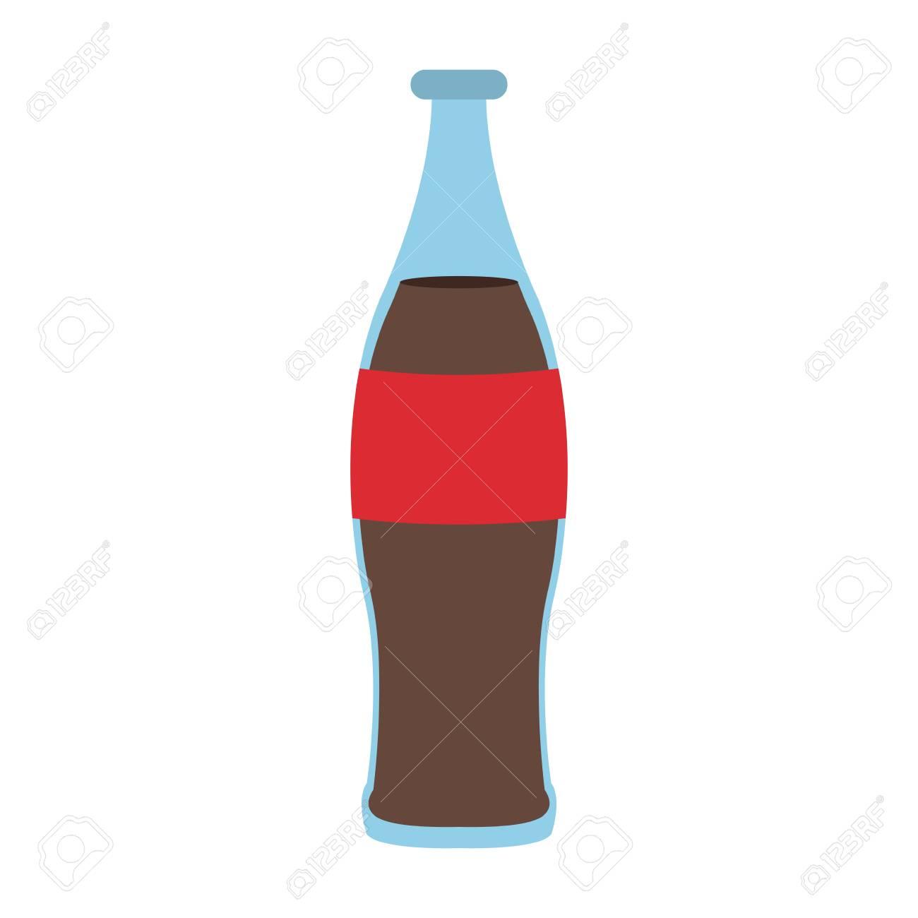 soda cola bottle vector