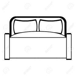 Furniture Concept Bed Scene Cartoon Vector Illustration Graphic Royalty Free Cliparts Vectors And Stock Illustration Image 124482402