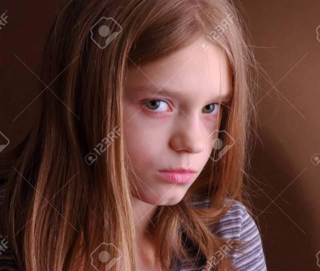 Sad And Abused Stock Photo