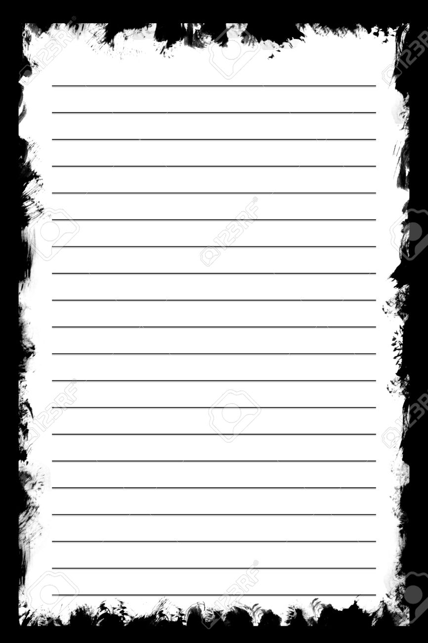 white texture notebook paper