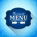 Mariscos Menu Seafood Menu Spanish Text Restaurant Menu Cover Royalty Free Cliparts Vectors And Stock Illustration Image 62919537