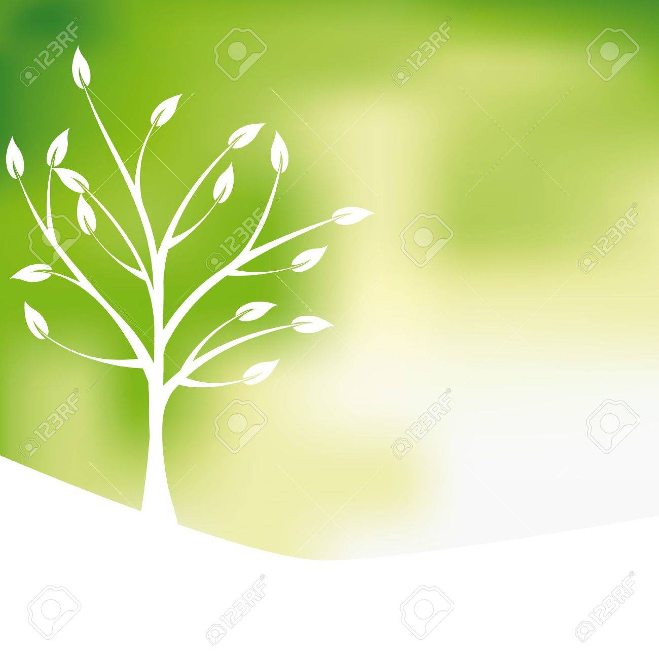 Green Tree Design Background Abstract Royalty Free Cliparts Vectors And Stock Illustration Image 11897666
