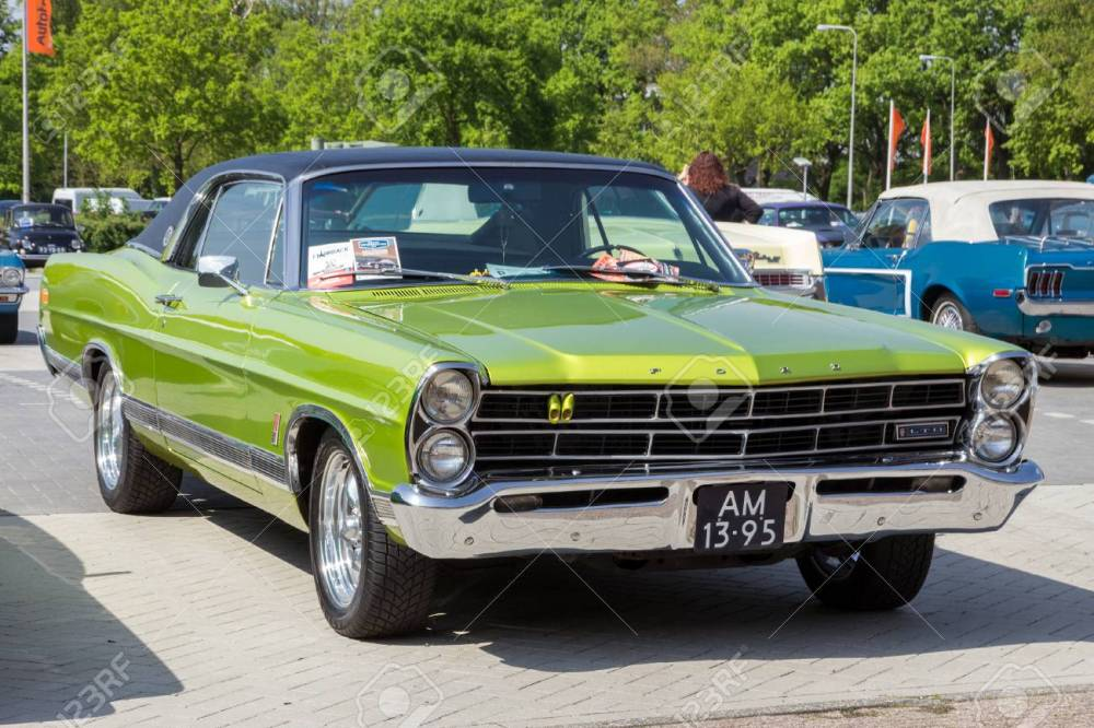 medium resolution of den bosch the netherlands may 10 2015 green 1967 ford ltd classic