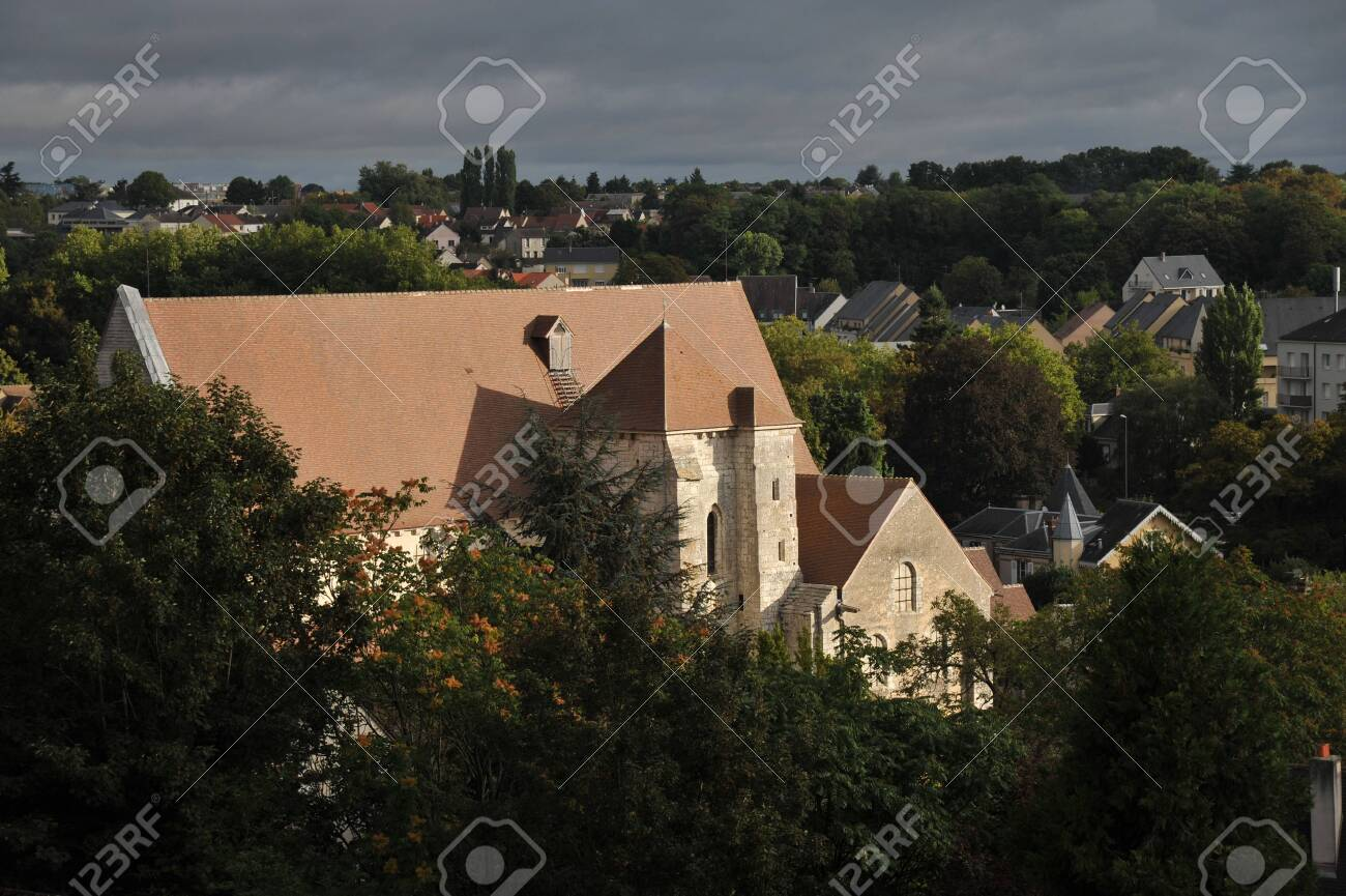 Collegiate Church Of Saint Andrew In Chartres France