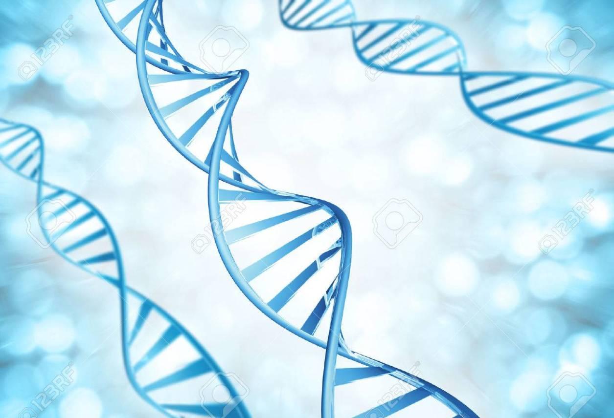遺伝子鎖 DNA の分子の拡大 の写真素材・画像素材 Image 31074383.