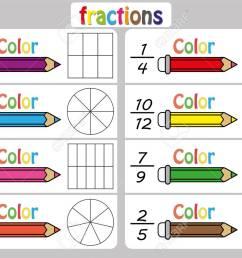 Fractions Worksheet [ 918 x 1300 Pixel ]