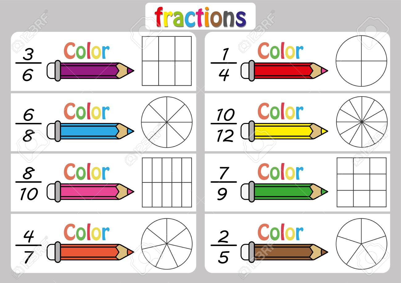 hight resolution of Fractions Worksheet