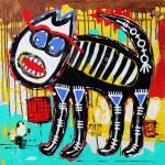 Ungewohnliche Ursprunglichen Kunst Zusammensetzung Von Doodle Bose Katze Autotrace Bild Vektor Illustration Acrylmalerei Lizenzfrei Nutzbare Vektorgrafiken Clip Arts Illustrationen Image 27417141