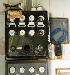 old fuse box in an old abandoned house old out house fuse box short version [ 917 x 1300 Pixel ]