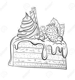 sweet beautiful dessert clipart for a restaurant [ 1300 x 1300 Pixel ]