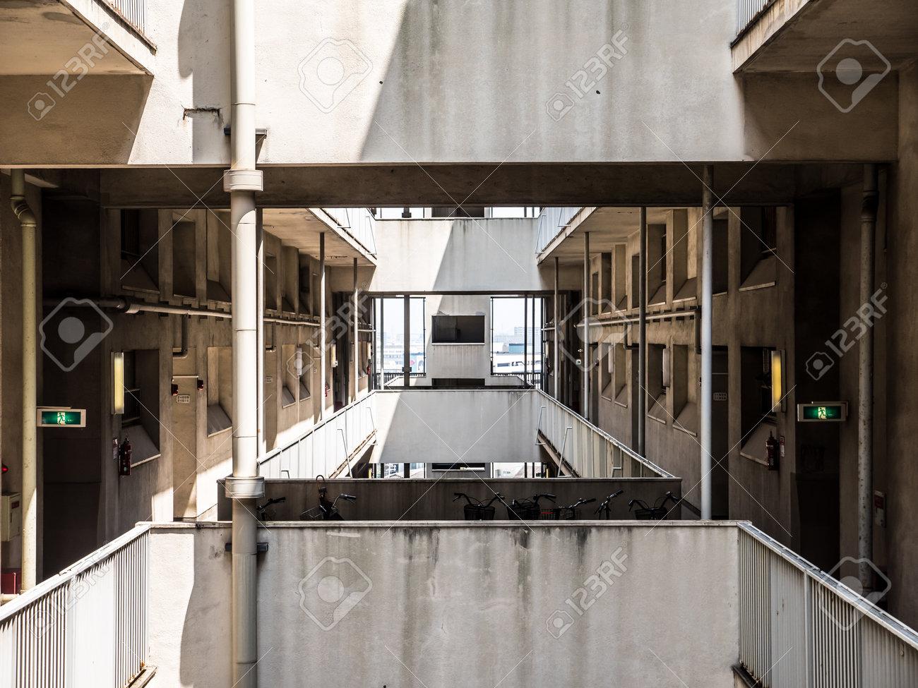japanese housing complex