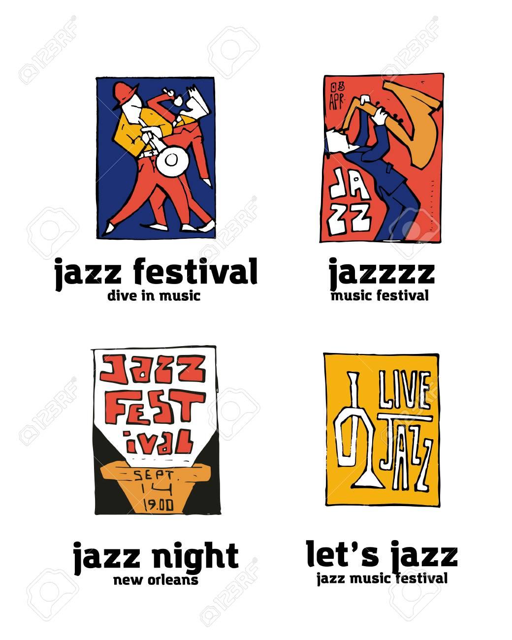 jazz music festival logo