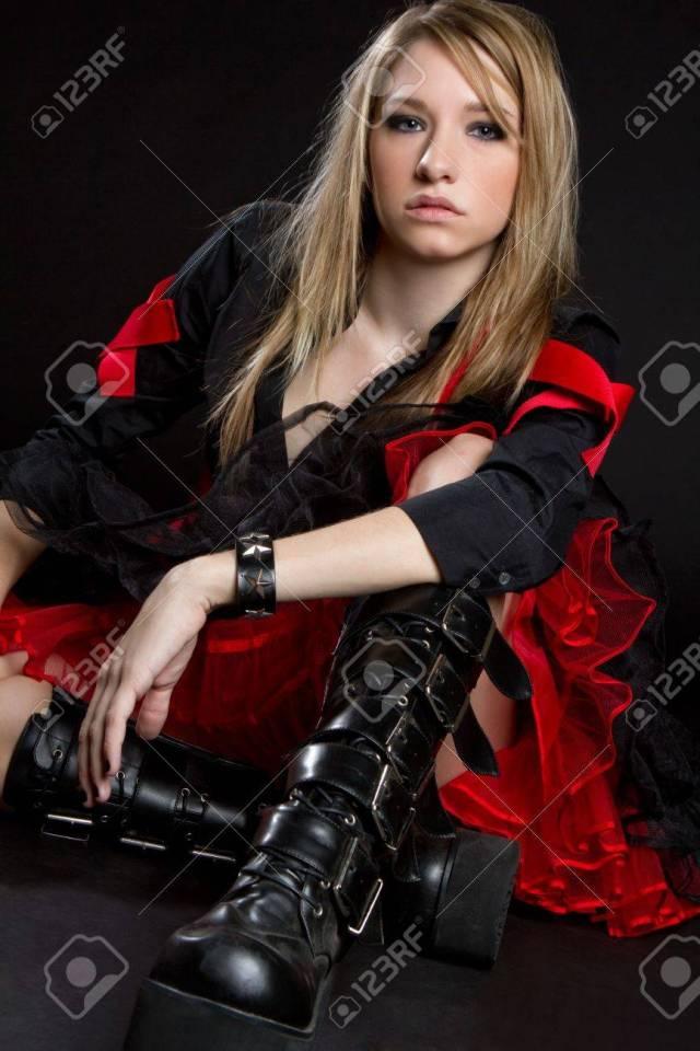 Hardcore Girl Stock Photo 6314046