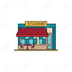 Cartoon Restaurant Papirio
