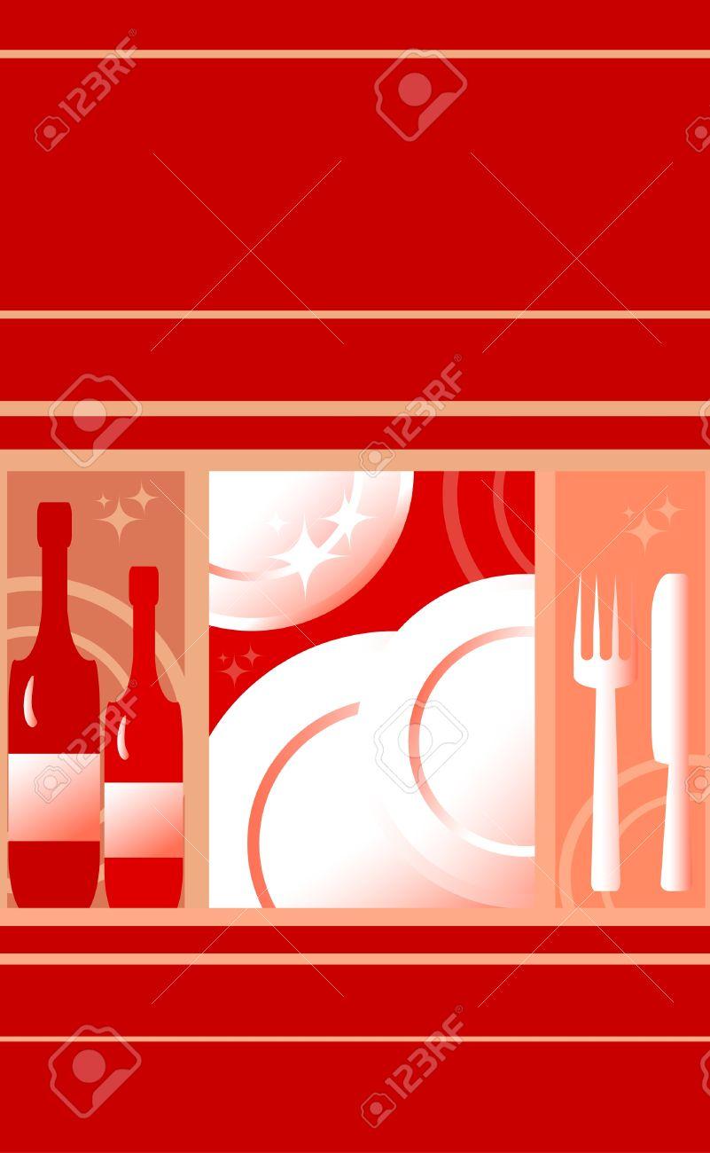 Red Food Background : background, Background, Restaurant, Menu., Drink, Royalty, Cliparts,, Vectors,, Stock, Illustration., Image, 10044521.