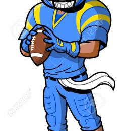 black african american football player cartoon clip art stock vector 92596465 [ 613 x 1300 Pixel ]