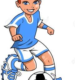 soccer football girl player vector clip art cartoon stock vector 92596526 [ 807 x 1300 Pixel ]