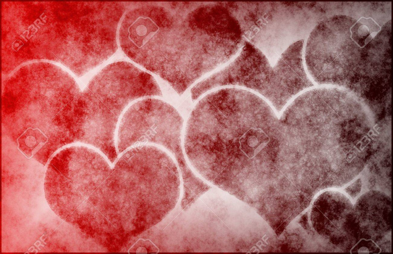 hearts love abstract background as a art stock photo, picture and