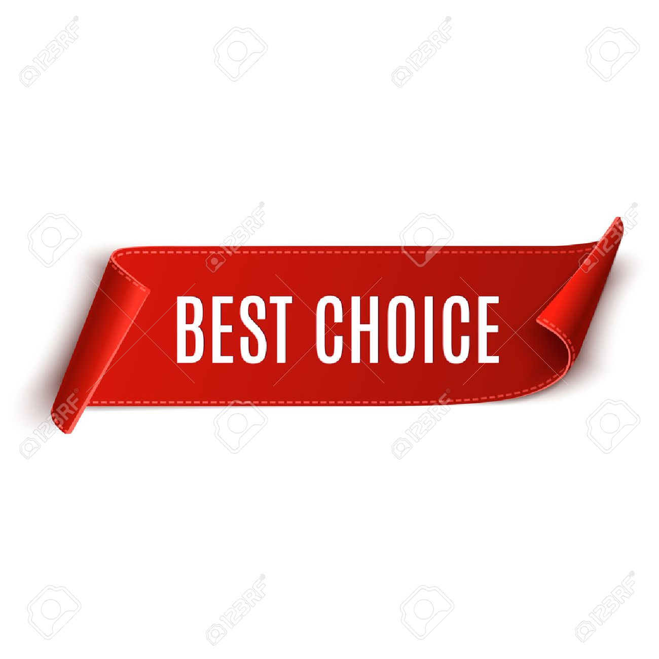 best choice vector banner