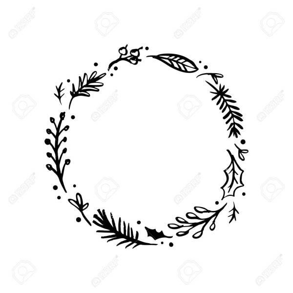 wreath template # 14