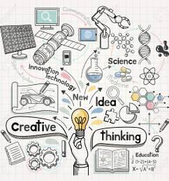 doodles idea diagram conceptual vector illustration stock vector 88034979 [ 1300 x 1300 Pixel ]