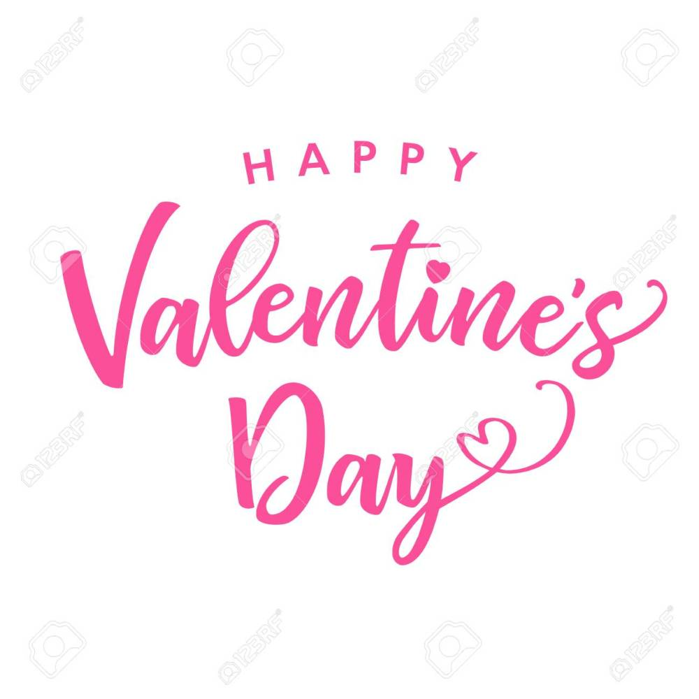 medium resolution of happy valentines day pink color lettering card greeting card template with text happy valentine s day