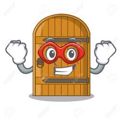 Wooden Door Cartoon Images