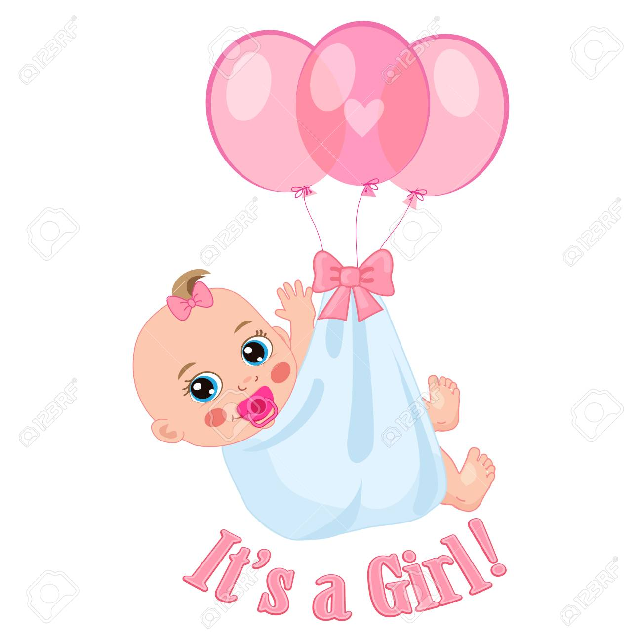 newborn baby girl shower