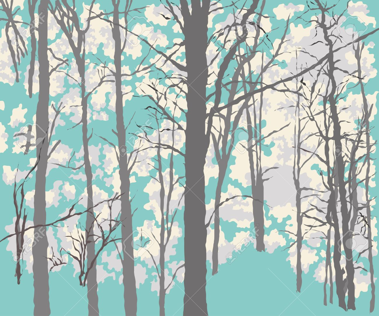 What is the history of this. Background Drawing Of The Dense Green Forest Royalty Free Cliparts Vectors And Stock Illustration Image 31575265