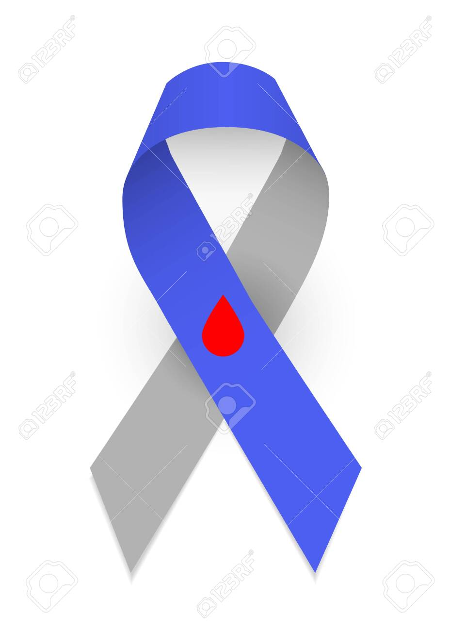 Diabetes Awareness Ribbon : diabetes, awareness, ribbon, Colorful, Satin, Ribbon, Symbol, Diabetes, Awareness..., Royalty, Cliparts,, Vectors,, Stock, Illustration., Image, 138634347.