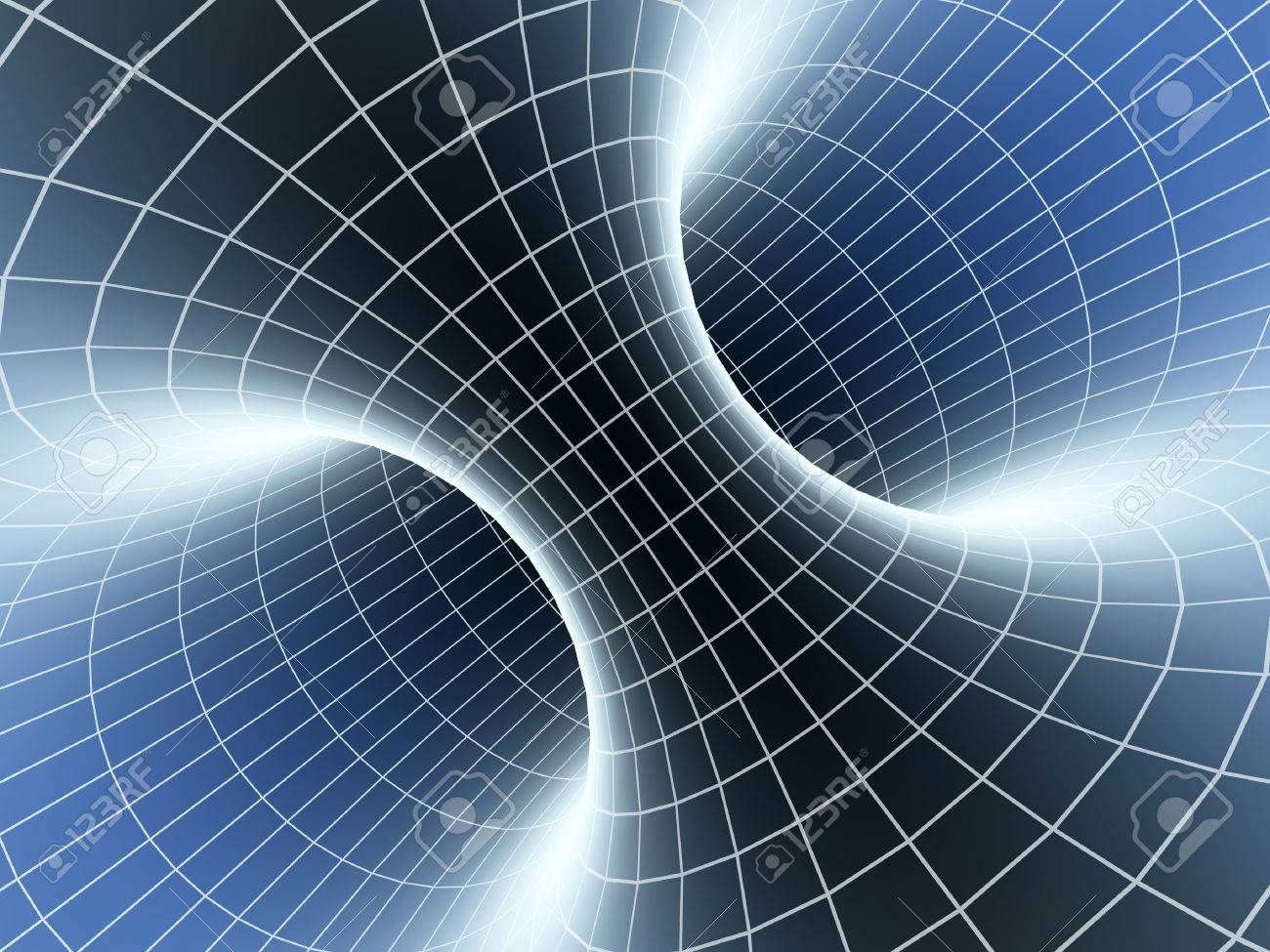 abstract wormhole 3d background