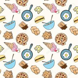 Seamless Food Pattern Can Be Used For Wallpaper Website Background Royalty Free Cliparts Vectors And Stock Illustration Image 61897878