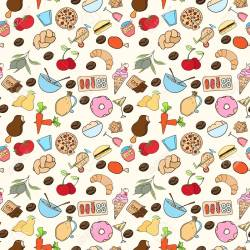 Seamless Food Pattern Can Be Used For Wallpaper Website Background Royalty Free Cliparts Vectors And Stock Illustration Image 61898029