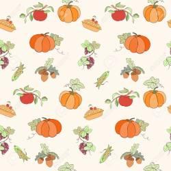 Wallpaper Thanksgiving Background Design