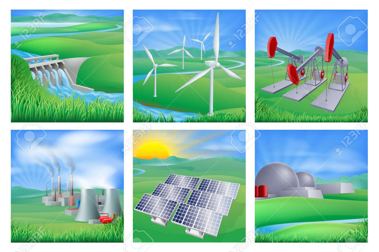 Resultado de imagen para Tipos de energia