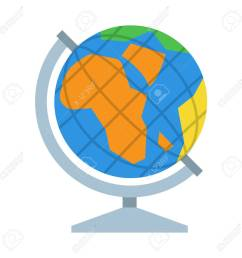 table world globe vector icon earth model illustration stock vector 62357312 [ 1300 x 1300 Pixel ]